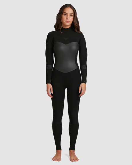 WOMENS 4/3MM SYNCRO GBS BACK ZIP WETSUIT