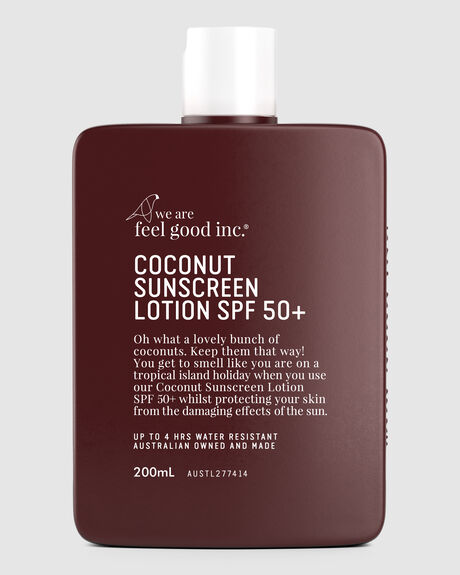 COCONUT SUNSCREEN LOTION 50+ 200ML