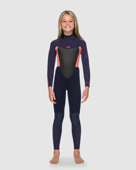 GIRLS 8-14 PROLOGUE 4/3MM BACK ZIP STEAMER WETSUIT