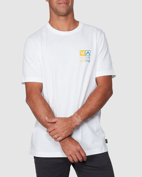 RVCA SPLIT SHORT SLEEVE TEE