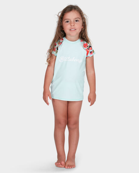 BILLABONG GIRLS BEACH BELLA RASH VEST SET