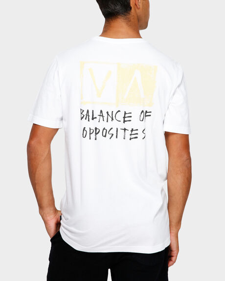 RVCA BLOCKER SHORT SLEEVE TEE