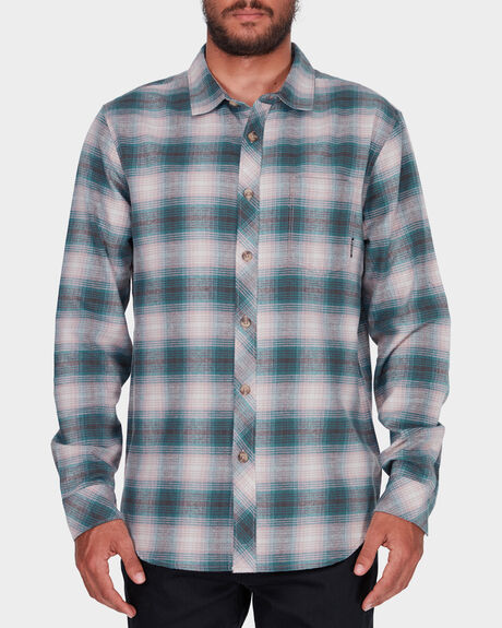 COASTLINE FLANNEL LONG SLEEVE SHIRT