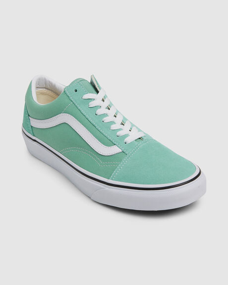 OLD SKOOL NEPTUNE GREEN/TRUE WHITE SHOES