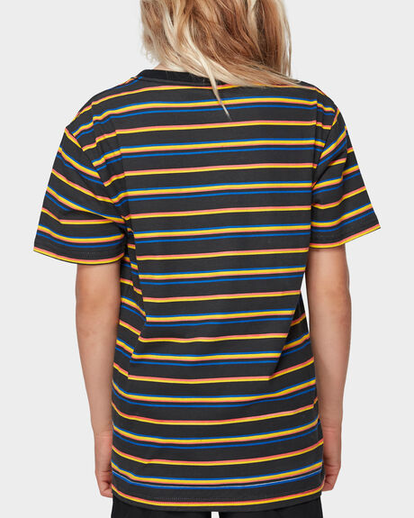 BONE STRIPE TEE