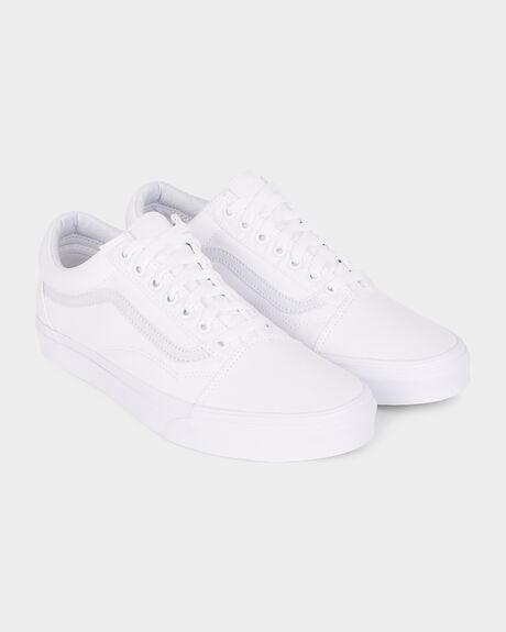 d41f56324e White OLD SKOOL VANS TRUE WHITE SHOE