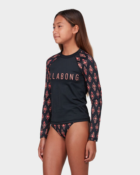 DIAMONDS LONG SLEEVE RASHGUARD