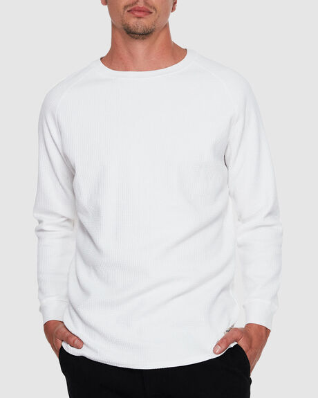 PRESTON FLEECE LONG SLEEVE JUMPER