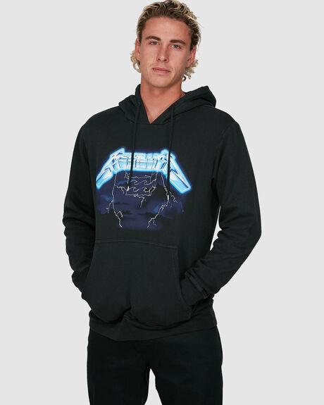 METALLICA RIDE THE LIGHTNING PULLOVER HOODIE