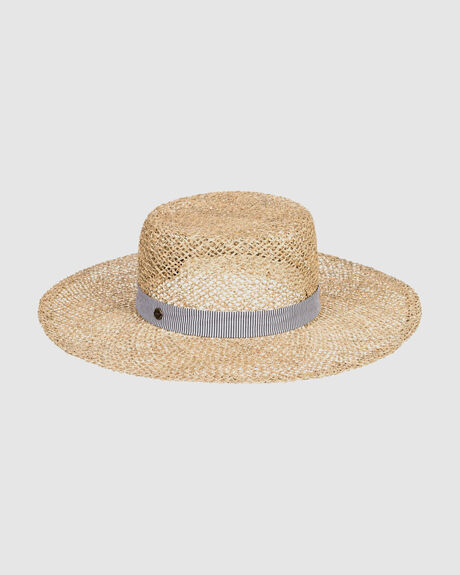 EAT CAKE - STRAW BOATER HAT