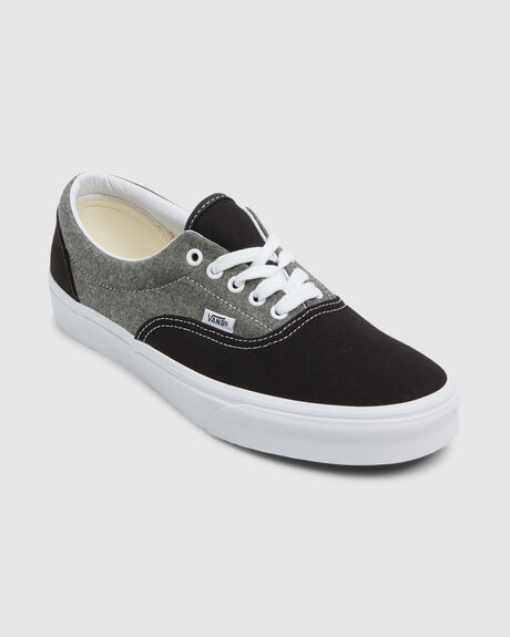 ERA CHAMBRAY CANVAS BLK/TR WHT SHOE