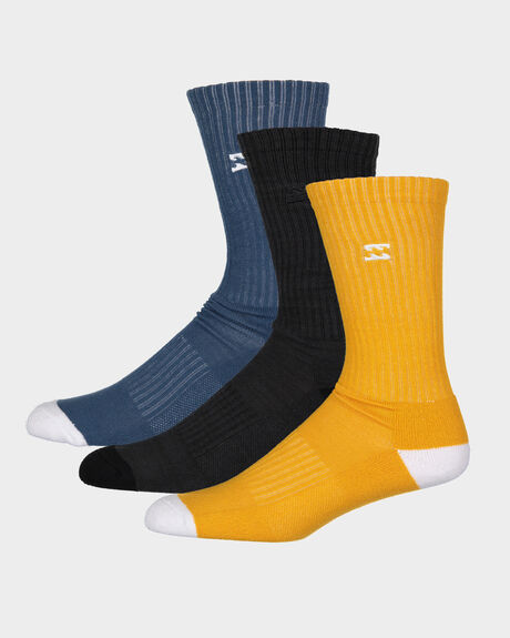 WAVE WASHED SOCKS