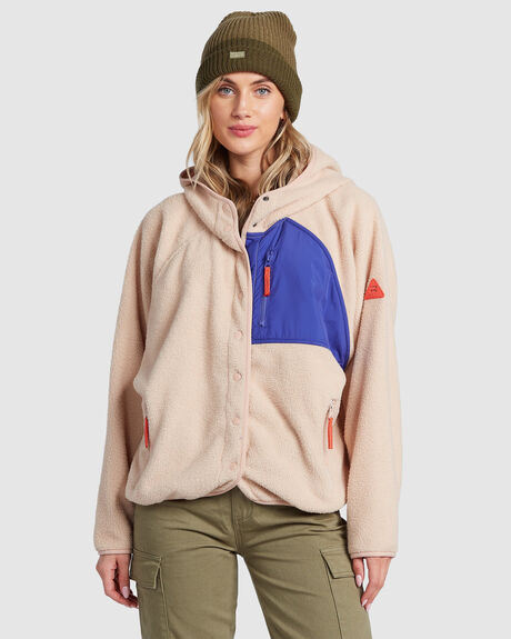 TOFINO SNAP FRONT HOODIE