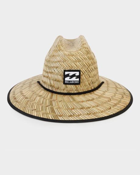 Tides Printed Straw Hat