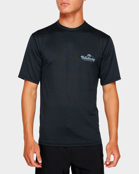 BEACH SCRIPT LF SHORT SLEEVE