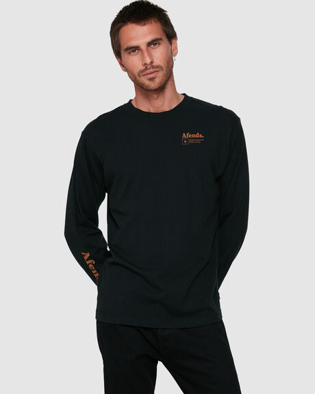 MENS ATLAS RETRO FIT LONG SLEEVE TEE
