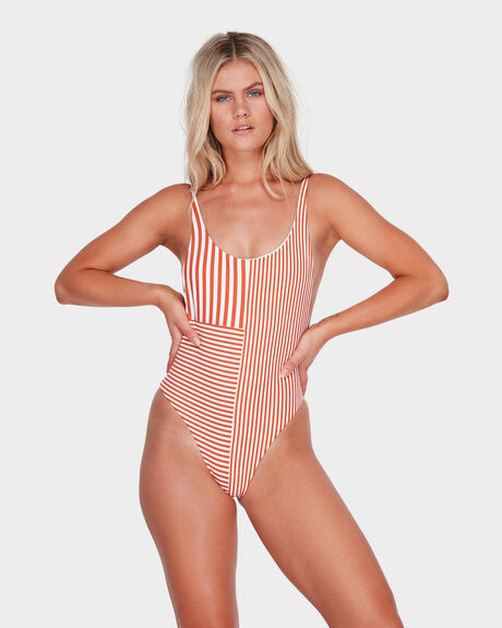 MISTY STRIPE ONE PIECE