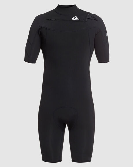 MENS 2/2MM SYNCRO SHORT SLEEVE CHEST ZIP SPRINGSUIT