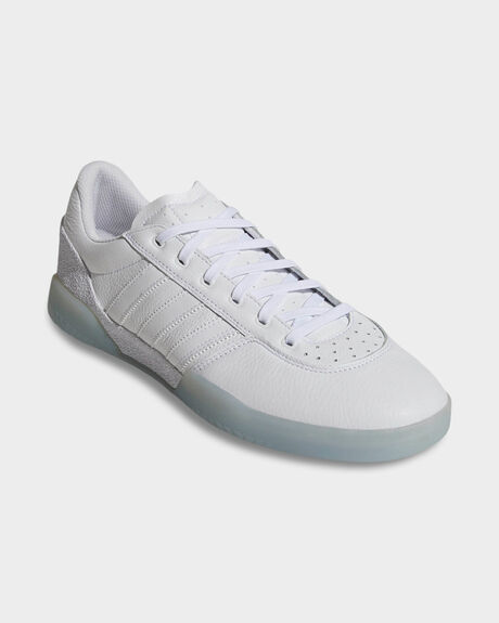 ADIDAS CITY CUP WHITE LEATHER SHOE