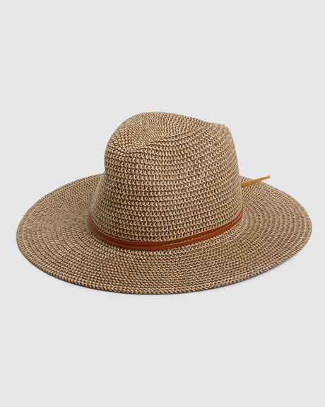 GISELLE STRAW HAT COPPER