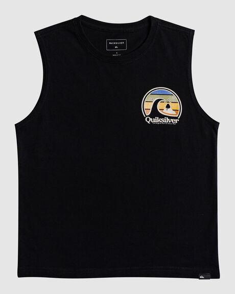 BOYS 2-7 SUN GAZING MUSCLE T-SHIRT