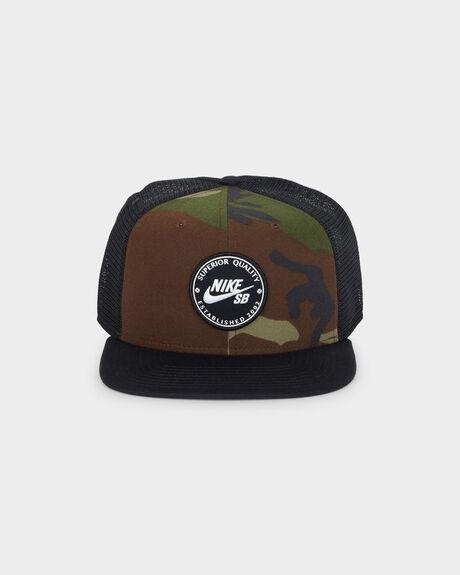 RO CAP PATCH TRUCKER CAP