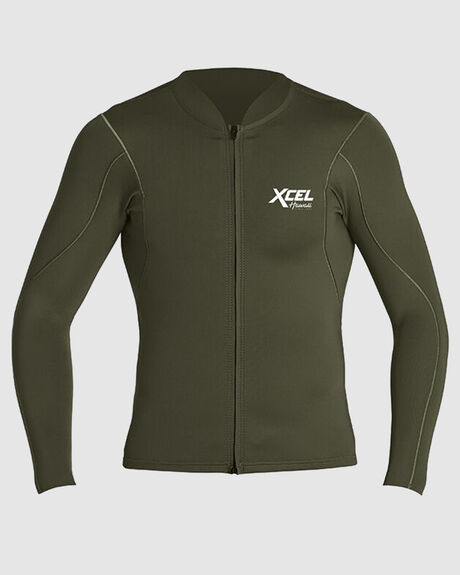 MENS AXIS 1/0.5MM LONG SLEEVE WETSUIT JACKET