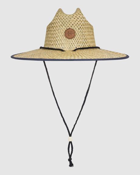 GIRLS 8-14 PINA TO MY COLADA STRAW LIFEGUARD HAT