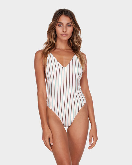 MALIBU STRIPE ONE PIECE
