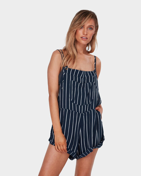 WILD PURSUIT STRIPE OVERALLS