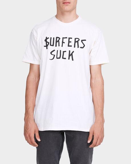 SURFERS SUCK SHORT SLEEVE TEE