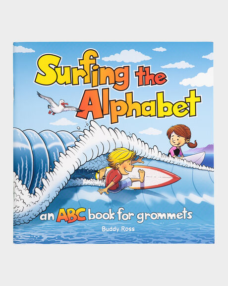 SURFING THE ALPHABET ABC BOOK FOR GROMMETS