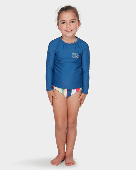 PARADISE TROPICS LONG SLEEVED UPF 50 RASH VEST SET