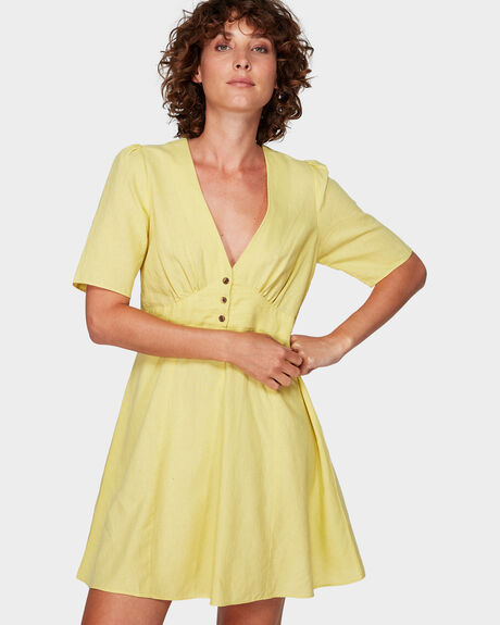 LEMON CRANE DRESS