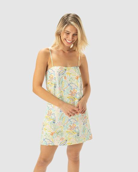 FLOWY SHIFT DRESS