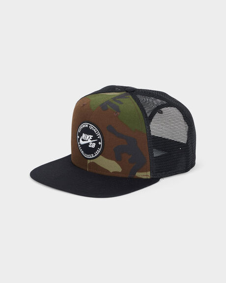 RO CAP PATCH TRUCKER CAP
