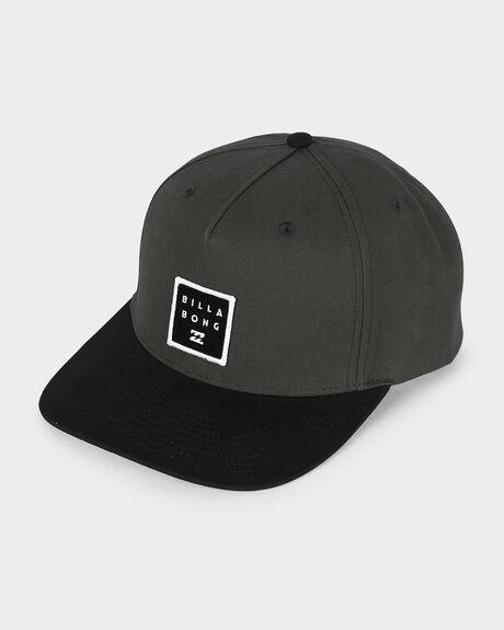STACKED SNAPBACK CAP
