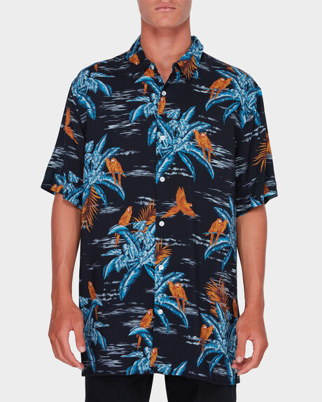 SUNDAYS PRINTED SHORT SLEEVE SHIRT