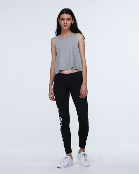 Linear Leggings  Black