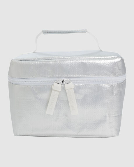 COOLER LUNCH BAG SILVER