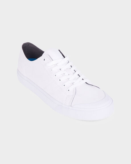 KUSTOM SLIM VULC WHITE SHOE