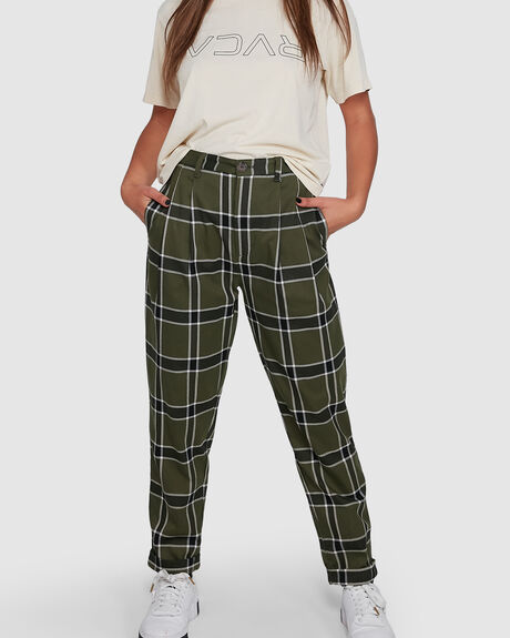 PLAID PLAYA PANT