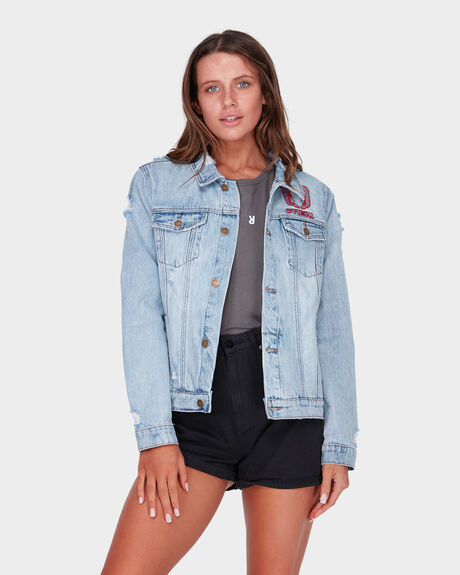 HIGHWAY DESTROY WANDERER JACKET - FADED BLUE
