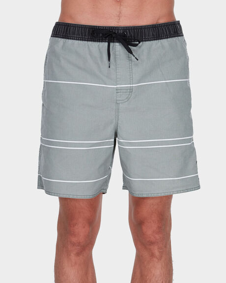 TONALLY STRIPE ELASTIC SHORT