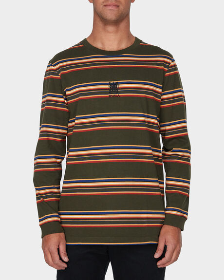 RVCA CREST LONG SLEEVE TEE
