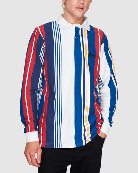 BARRON STRIPE RUGBY SHIRT
