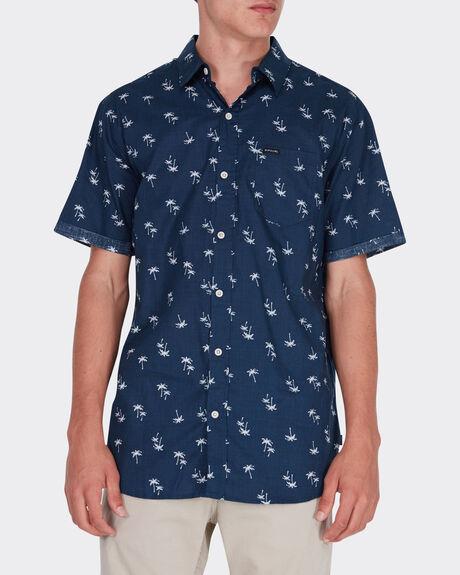 Palm Leaf S/S Shirt