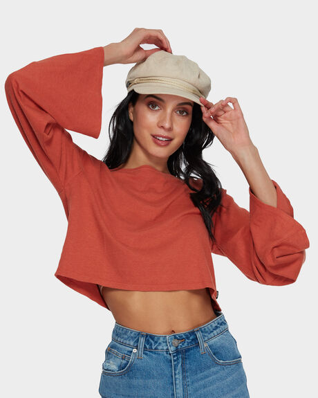 BRIDIE HEMP LONG SLEEVE TEE