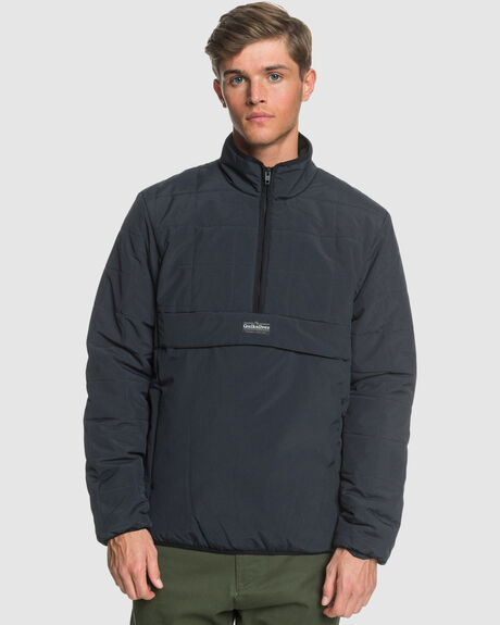 MENS WARU LIGHTWEIGHT HALF-ZIP PUFFER JACKET