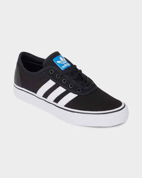 ADIDAS ADI-EASE BLACK/ WHITE/ GUM SHOE